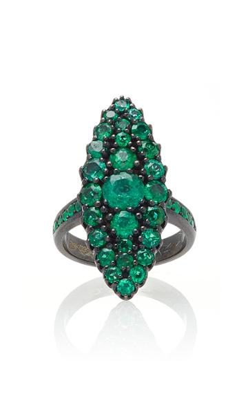 Colette Jewelry Emerald Chevalier Ring
