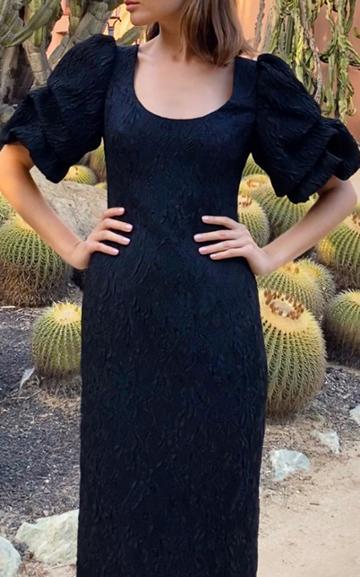 Moda Operandi Monique Lhuillier Matelasse-jacquard Dress