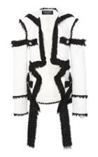 Balmain Deconstructed Tweed Jacket
