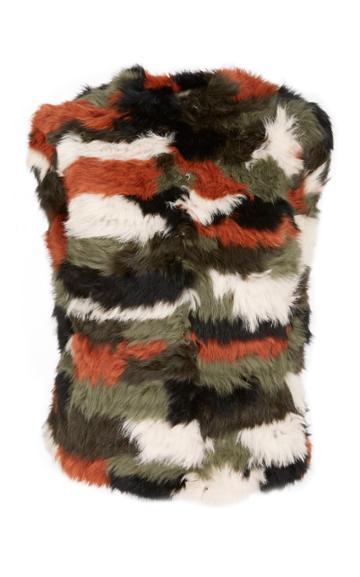 Ulla Johnson Ode Patchwork Vest