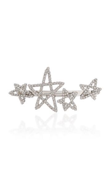 Lelet Ny Seeing Stars Rhodium-plated Crystal Barrette