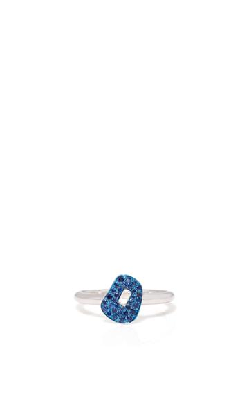 Mattioli Puzzle Ring With Sapphires