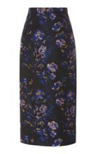 Zac Posen Floral Pencil Skirt