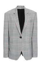 Monse Glen Plaid Blazer