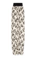 Johanna Ortiz Unconventional Printed Jacquard Maxi Skirt
