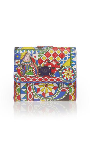 Dolce & Gabbana Mini Flap Wallet