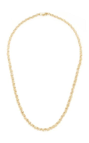 Moda Operandi Suzanne Kalan 18k Yellow Gold Tennis Necklace