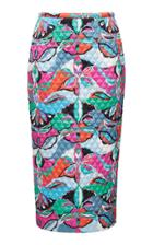 Emilio Pucci Quilted Skirt