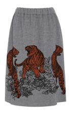 Tak.ori Tak. Ori Knit Tiger Skirt