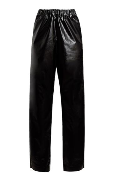 Kassl Oiled Cotton-blend Pants