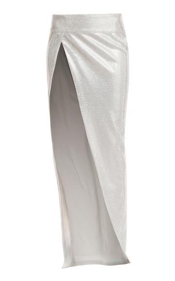 Moda Operandi Balmain Embroidered Skirt