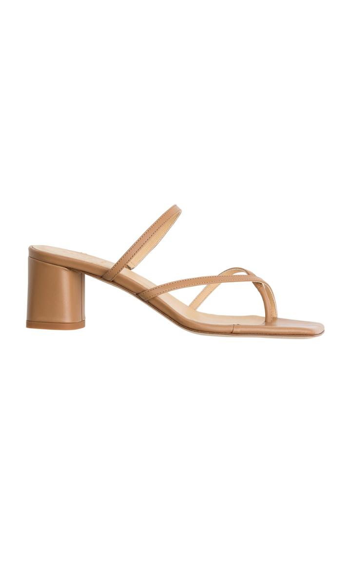 Moda Operandi Aeyde Larissa Calf Leather Sandals