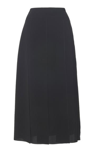 Cyclas Pleated Chiffon Skirt