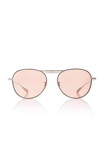 Oliver Peoples Cade Round-frame Sunglasses