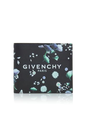 Givenchy Floral Leather Wallet