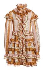 Moda Operandi Zimmermann Lucky Ruffled Mini Dress