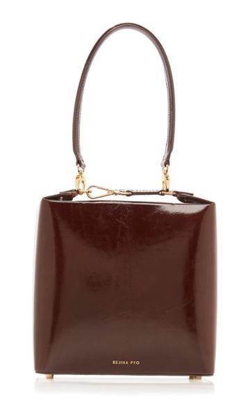 Moda Operandi Rejina Pyo Lucie Patent Leather Shoulder Bag