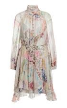 Moda Operandi Zimmermann Ladybeetle Angled Mini Dress