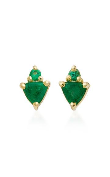 Ila Ilenia 14k Emerald Earrings
