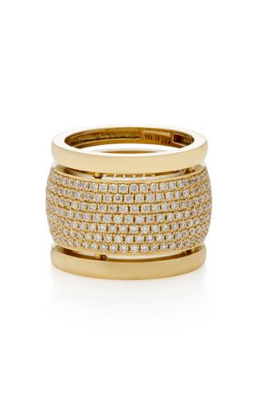 Established Trio 18k Gold Diamond Ring