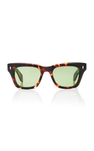 Jacques Marie Mage Dealan Square-frame Acetate Sunglasses
