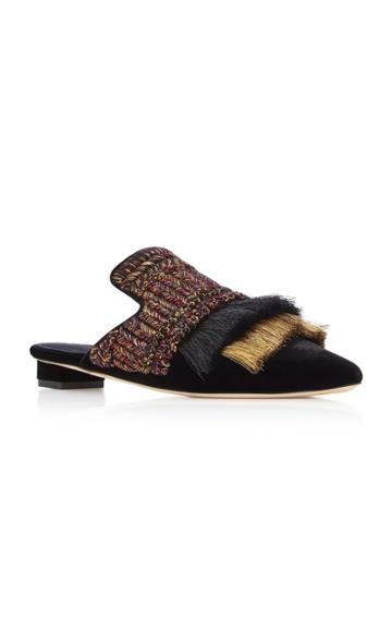 Sanayi 313 Proust Velvet Slippers
