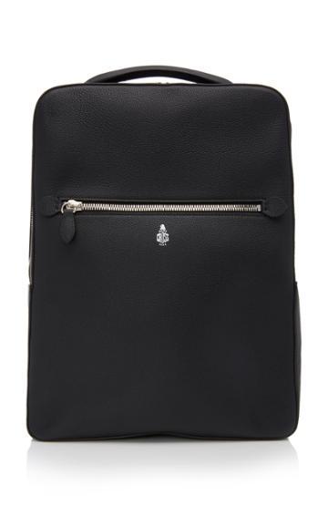 Mark Cross Alexander Grain Leather Backpack