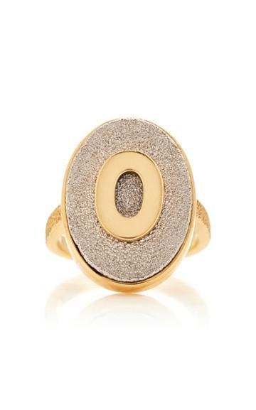 Moda Operandi Carolina Bucci Florentine Initial Ring