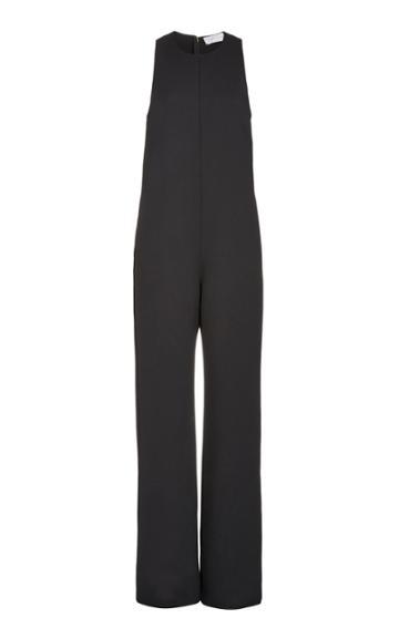 Moda Operandi Marina Moscone Sleeveless Cady Jumpsuit
