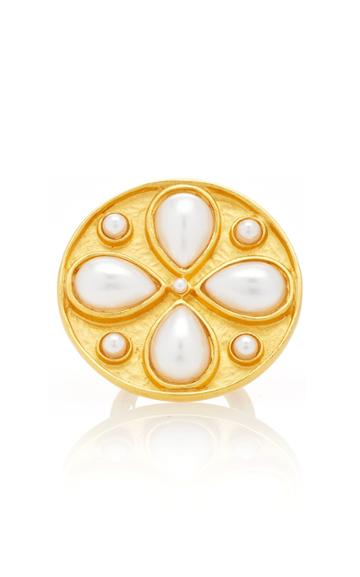 Rebecca De Ravenel Pamina Pearl Ring