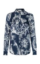 Stine Goya Maxwell Printed Long Sleeve Top