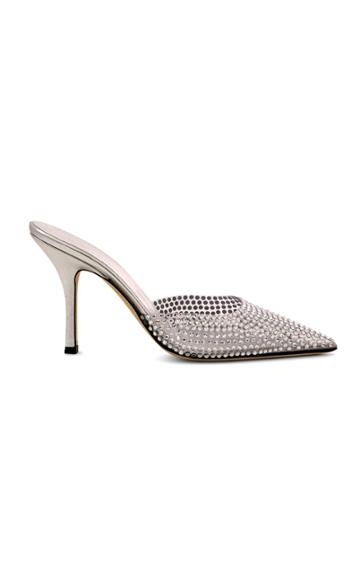 Moda Operandi Paris Texas Hollywood Pvc Embellished Mules