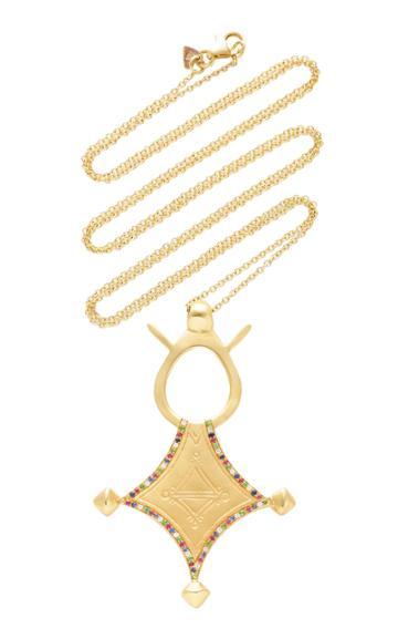 Christina Alexiou Tuareg Compass Necklace