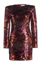 Moda Operandi Ralph & Russo Sequined Tulle Mini Dress
