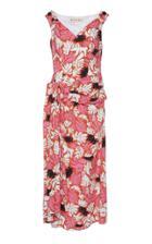 Marni Printed Asymmetric Tie Dress
