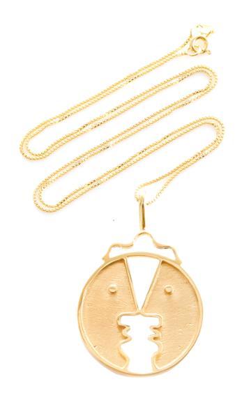 Paola Vilas Henri 18k Gold-plated Necklace