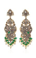 Munnu The Gem Palace Elephant Chandelier Earrings