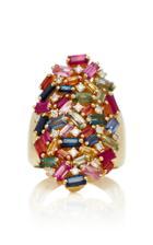 Suzanne Kalan Rainbow Fireworks Cocktail Ring