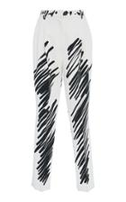 Moschino Tapered Crepe Pants