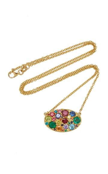 Colette Jewelry Oval Rainbow Necklace