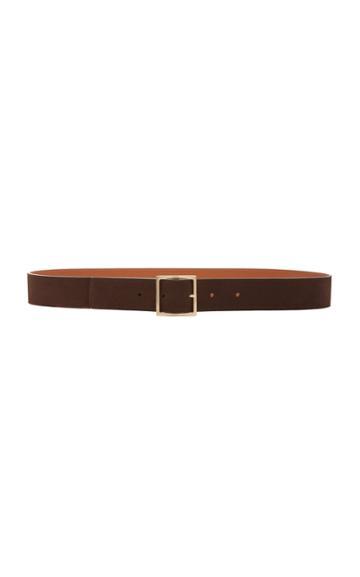 Maison Boinet Brown Leather Belt