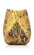 Moda Operandi The Volon Mani Mini Snake-effect Leather Shoulder Bag