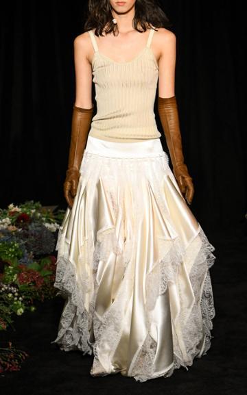 Moda Operandi Danielle Frankel Cora Silk Knit Tank Top Size: Xs