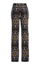 Moda Operandi Khaite Charles Printed Satin Pants