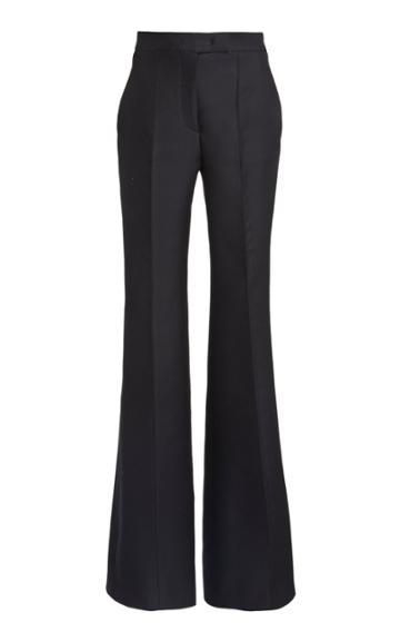 Moda Operandi Gabriela Hearst Leda Wool-silk Flared Trousers