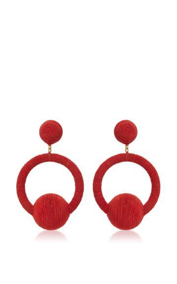Rebecca De Ravenel Linda Hoop La La Earrings