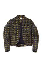 Delpozo Short Tweed Jacket