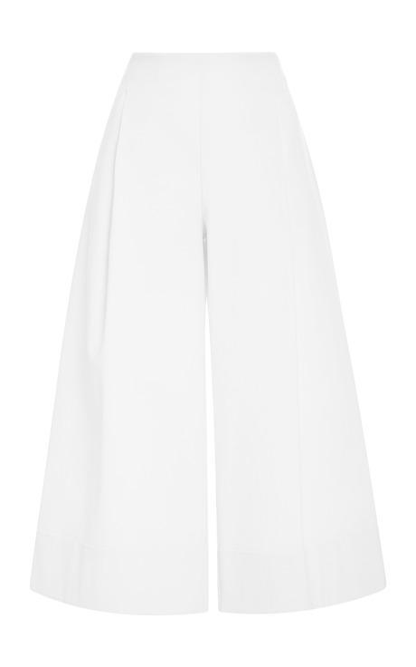 Nicholas Techno Wide Leg Culottes White