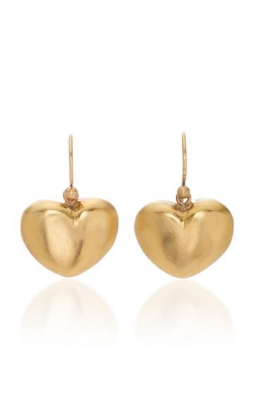 Christina Alexiou Small Heart Earrings