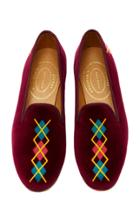Stubbs & Wootton Argyle Column Slipper
